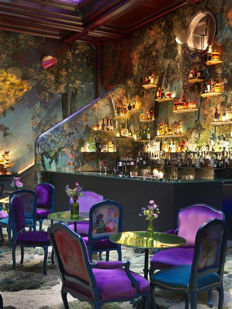 glade room  sketch london restaurant interior design