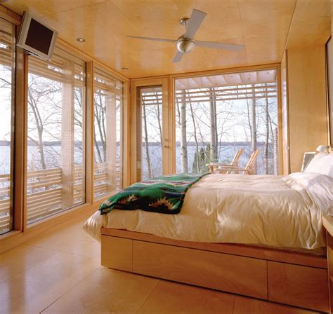 modern ceiling fan dresses up cozy bedroom retreat