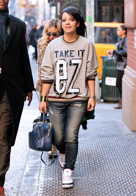 Lilly Allen For Chanel 2 allen shops with chanel in soho purseblog