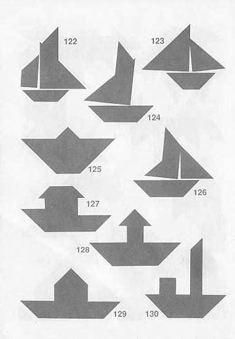 soluciones tangram descubre c 243 mo formar las figuras - Imagenes De Barcos Con Tangram