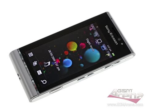 Hp Sony Ui Satio sony ericsson u1i satio ponsel kamera tangguh dengan os