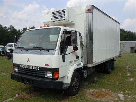 mitsubishi fuso fh 1995 refrigerated box truck used