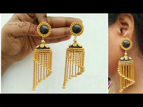Paper Jewellery Design And Make - how to make designer earrings how to make paper