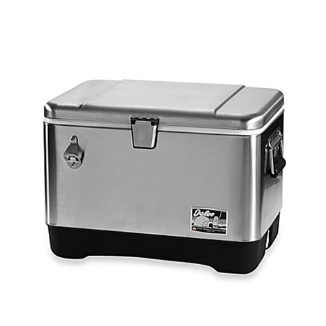 bed bath and beyond cooler igloo 174 stainless steel 54 quart cooler bed bath beyond