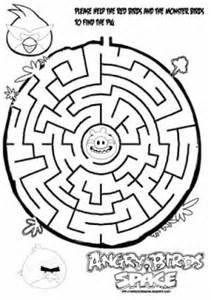 angry birds space maze learn coloring