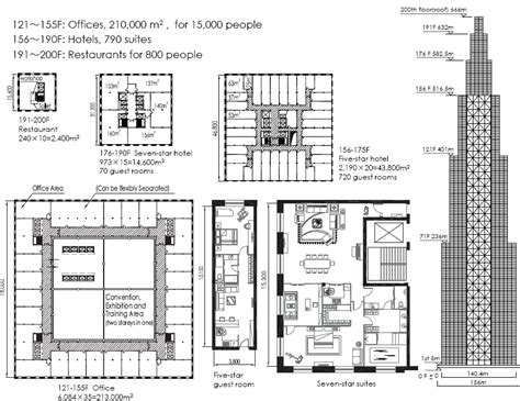 100 chrysler building floor plan house structural sky city is not overcrowded according to broad groups