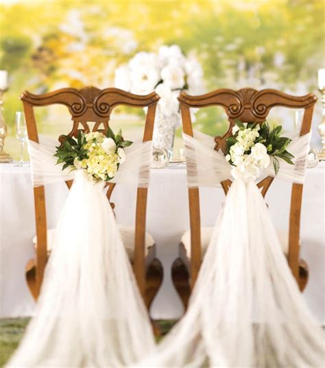 how to make a crushed tulle chair d 233 cor diy wedding