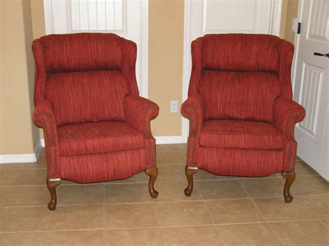 Wingback Recliners Chairs Living Room Furniture Home