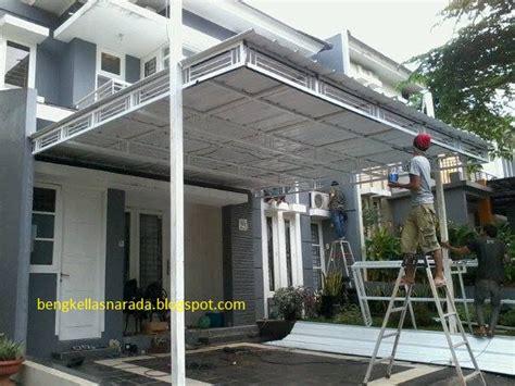 Kanopi Atap Minimalis bengkel las dan canopy minimalis