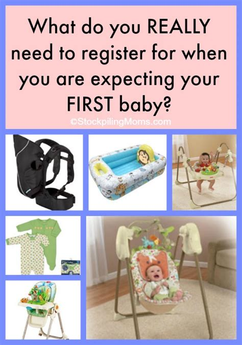 What Does It To Register For A Baby Shower by What Do You Really Need To Register For When You Are