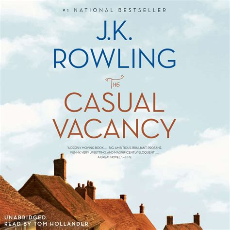 Jk Rowling The Casual Vacancy the casual vacancy audiobook by j k rowling for just 5 95