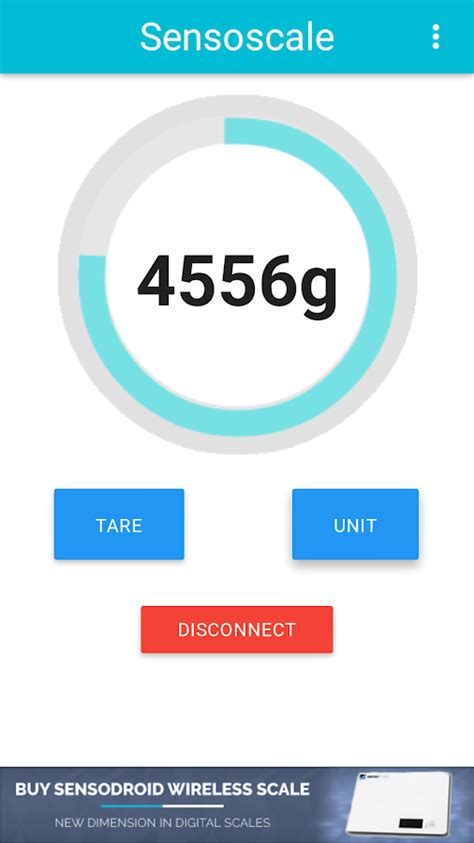 count scale lite digital scale android apps on play sensoscale lite digital scale android apps on play