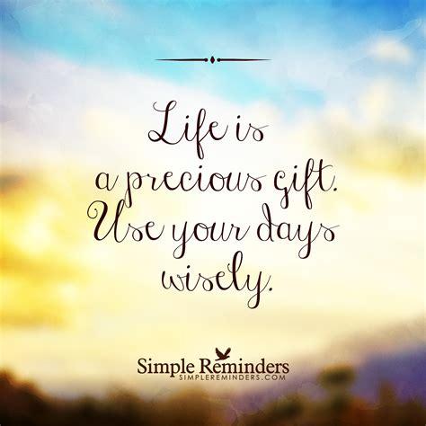 A Precious Gift quot is a precious gift quot by simple reminders
