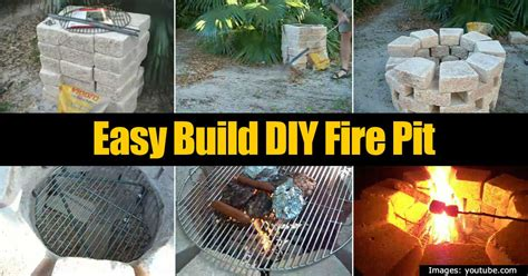 easy build diy pit