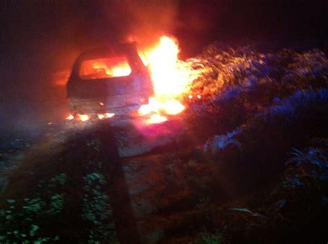 ufficio reclami fiat incendiata l auto di un agricoltore qui mesagne