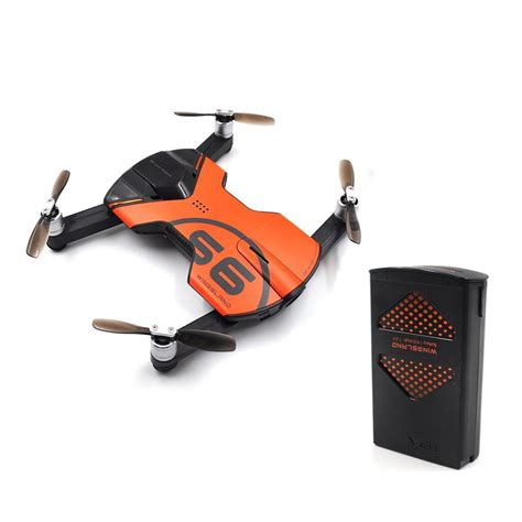 Wingsland S6 Pocket Selfie Drone Wifi Fpv With 4k Termurah jual wingsland s6 pocket selfie drone wifi fpv with 4k uhd with gps and maiden flight di