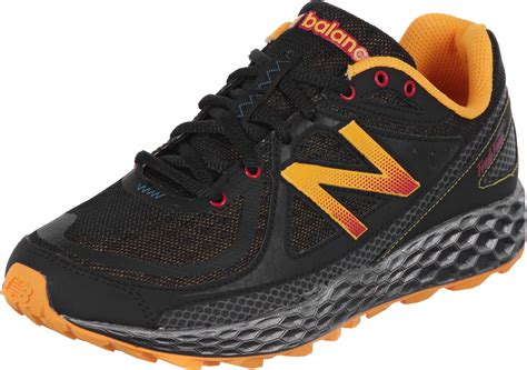 new balance 174 mthier trail running shoes black orange