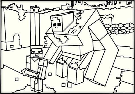 minecraft color pages minecraft coloring pages