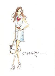 fashion illustration toronto photos of fashion illustrator dallas shaw fashion