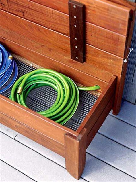garden hose container storage 1000 ideas about garden hose storage on hose