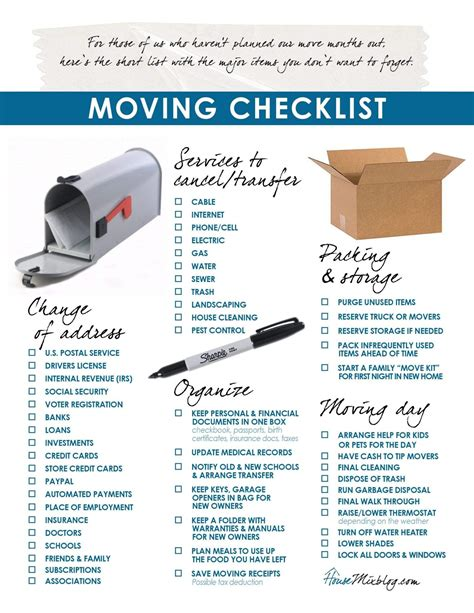 packing and moving tips packing and moving checklist tips and overnight storage