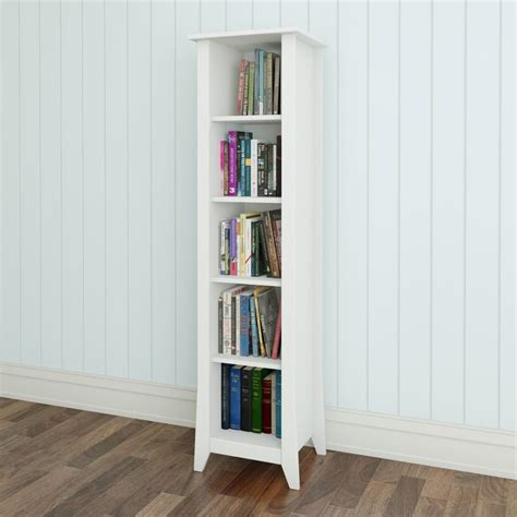 Slim Depth Bookcase Nexera 200203 Vice Versa Slim Bookcase Lowe S Canada