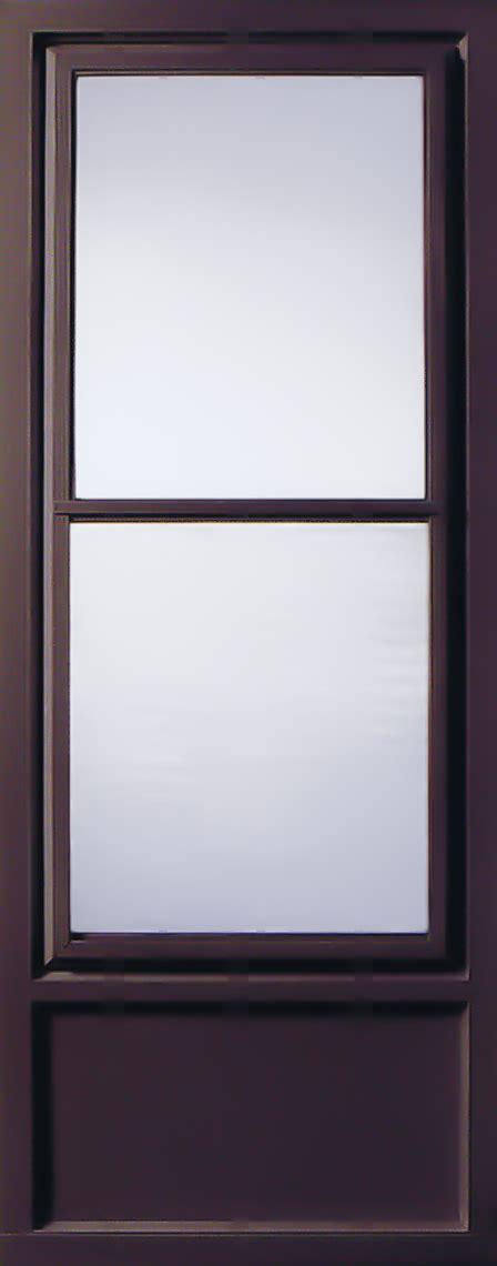 Self Storing Door by Doors Stormshield Aluminum Climateguard Doors