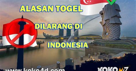 alasan  togel dilarang  indonesia situs  pasang taruhan  bermain judi