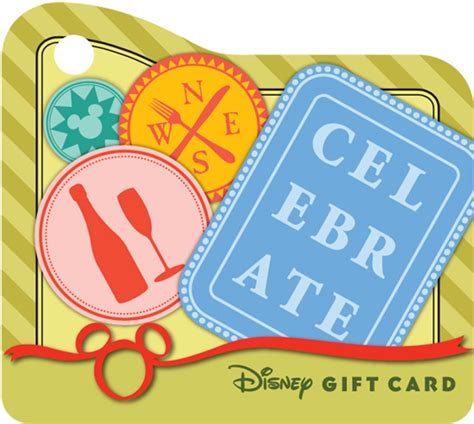 Epcot Gift Card - disney gift card is your passport to a world of flavors at epcot s food wine