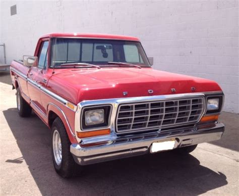 ford f150 long bed 1979 ford f 150 ranger lariat long bed red