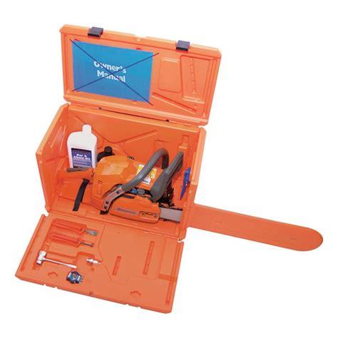 shop husqvarna chainsaw case at lowes com