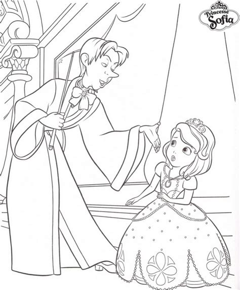 Coloriage A Imprimer Princesse Sofia Et Cedric Gratuit Et Le Cheval En Coloriage A Imprimer L