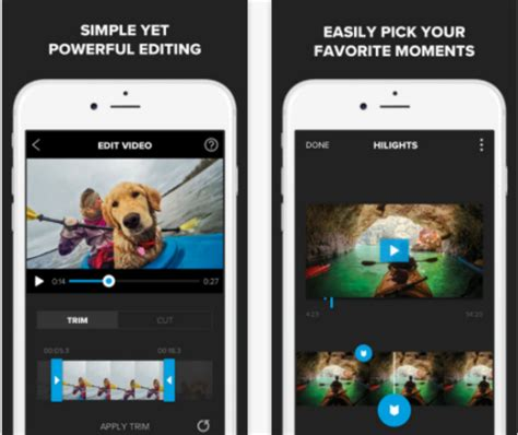 best gopro apps top 10 gopro editing apps for iphone android