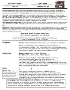 Exles Of Successful Resumes by Successful Resume Formats Exles And Best Free Home Design Idea Inspiration