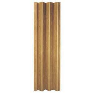 Accordion Closet Doors Lowes Shop Spectrum Oak Folding Closet Door Common 32 In X 80 In Actual 32 75 In X 78 25 In At