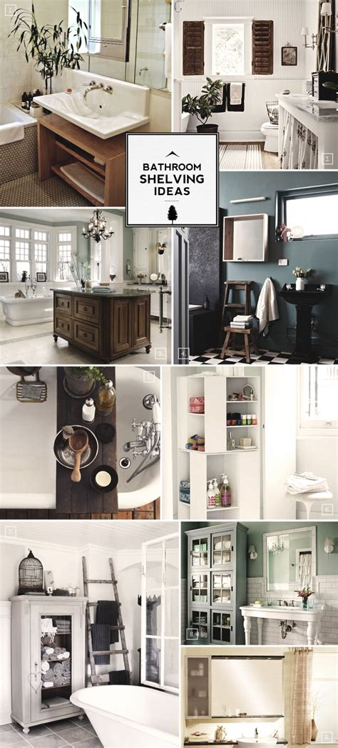 design guide bathroom shelving ideas mood board home