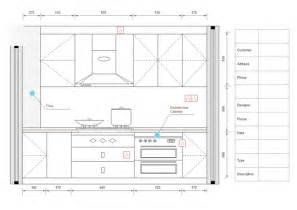 Kitchen Design Plans Template by Examples Of Kitchen Elevation