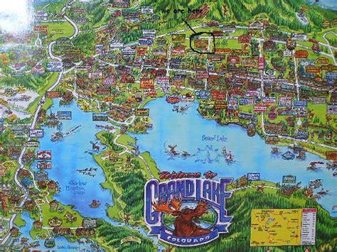 grand lake colorado map spirit lake lodge and snowmobile rentals accomodation in