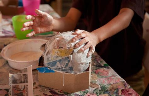 How To Make Something Out Of Paper Mache - paper mache tips and hints for crafts