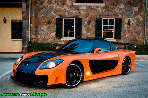 widebody rx7 feature 1995 widebody mazda rx7 awesomesaucelifestyle