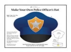 make a police officer s hat ichild