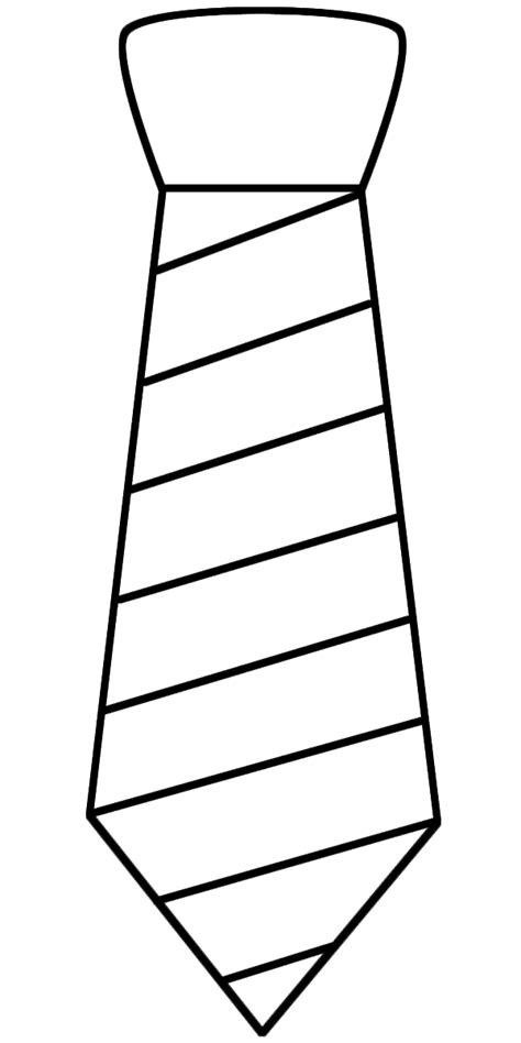 dibujo de corbata para colorear plantillas de corbatas ideas y material gratis para