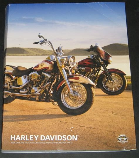 Harley Davidson Parts Catalog by 2009 Harley Davidson Parts Accessories Catalog Ebay
