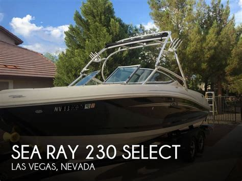 sea ray boats for sale las vegas sea ray 230 select for sale in las vegas nv for 36 500