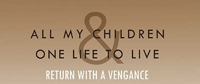 all my children and one life to live revivals have a all my children and one life to live return hotspots