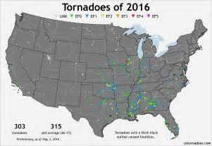 tornado alley map tracking the tornadoes of 2016 u s tornadoes