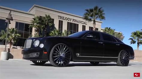 custom bentley mulsanne wheels bentley mulsanne on custom 24 quot lz 722 lexani wheels