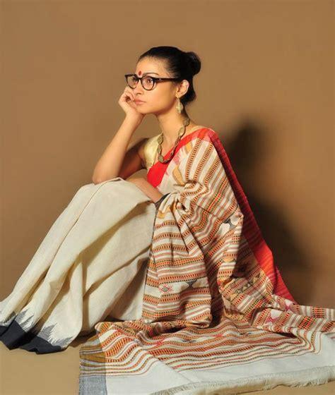 Buy Loom Lores Sarees in nearly extinct Orissa weave