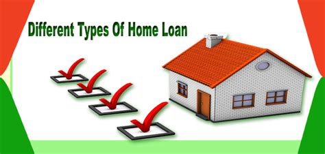 different types of home loan money dial the ultimate