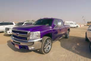 purple silverado hd 2500 n s
